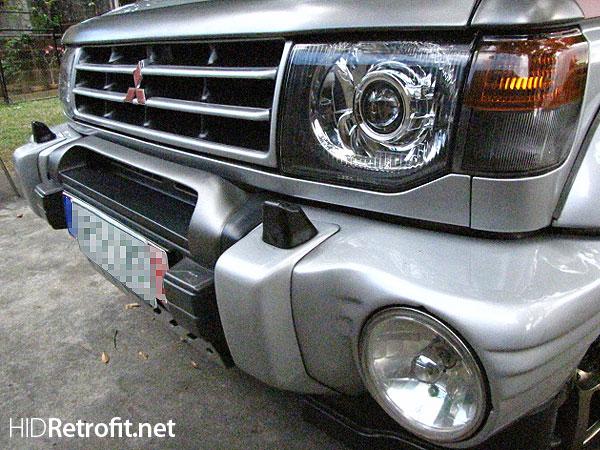 Hid Retrofit 187 Mitsubishi Pajero Shogun Euro Look