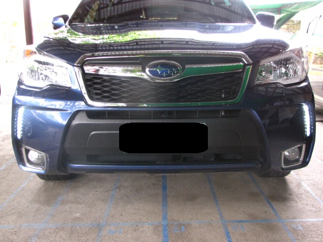 subaru forester xt 2014 daylight running lights