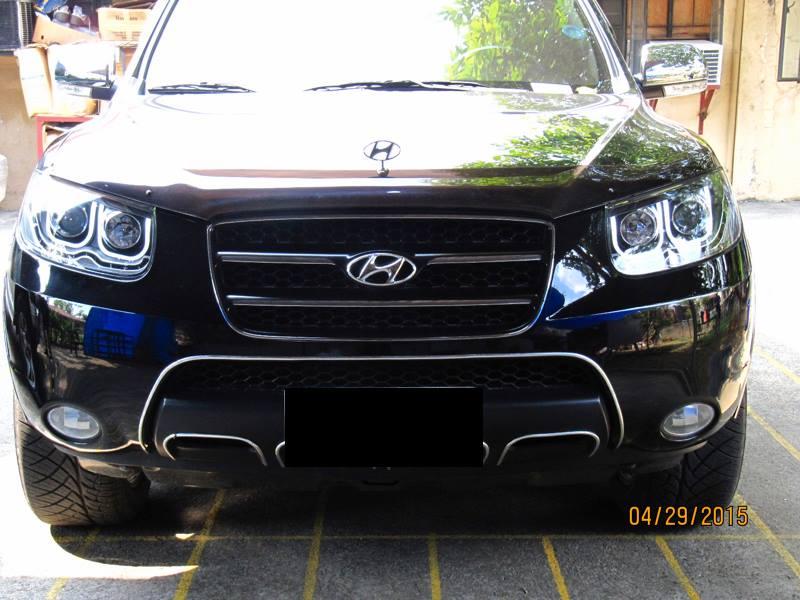 Hid Retrofit  U00bb Hyundai Santa Fe Cm