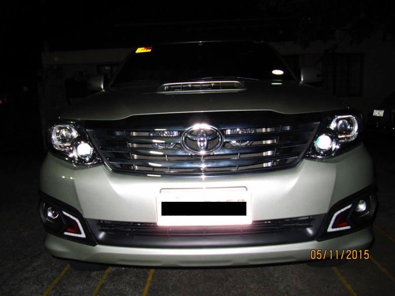 HID Retrofit » Toyota Fortuner 2014
