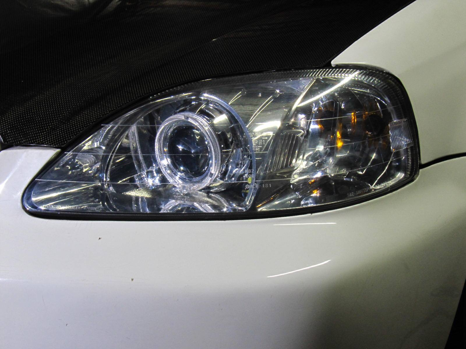 Hid Retrofit  U00bb Honda Civic Ek