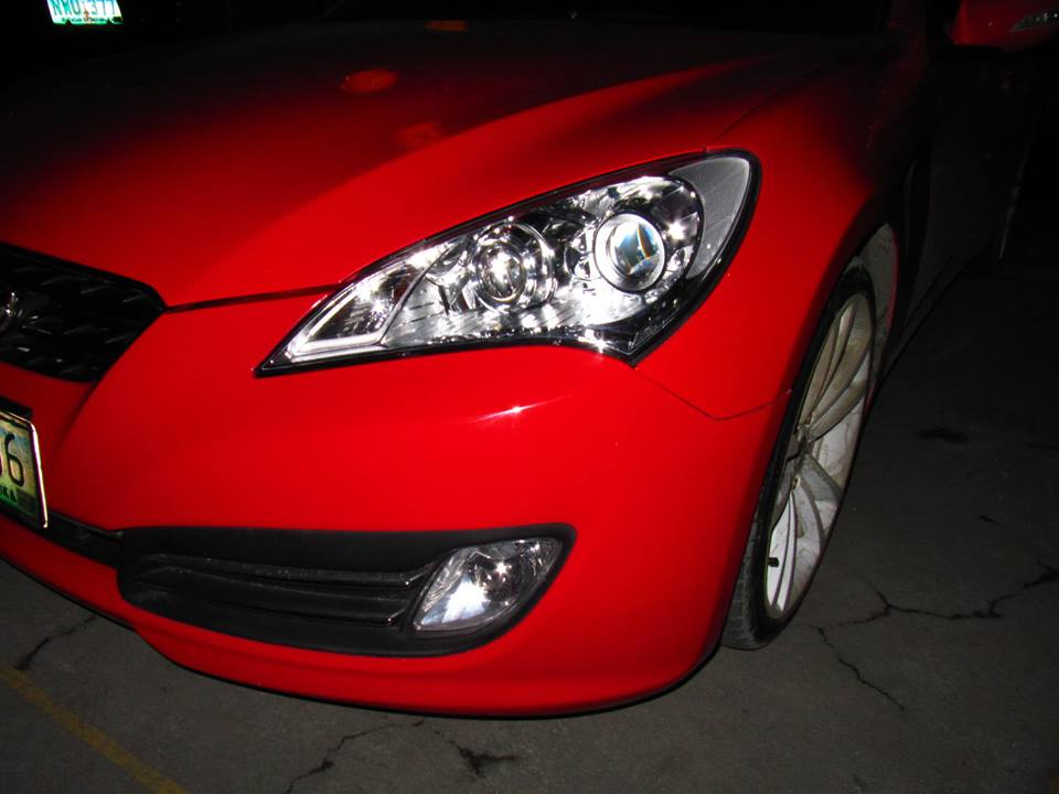 Hid Retrofit 187 Hyundai Genesis Coupe 2011