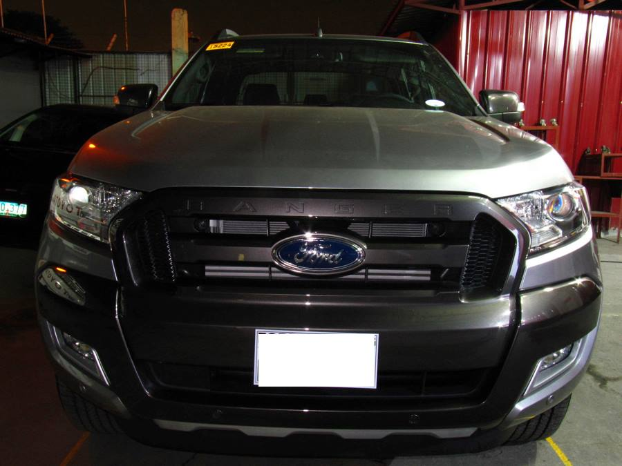hid retrofit ford ranger 2016 t7